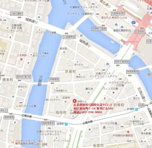 広島駅前校(国際交流サロン)の地図